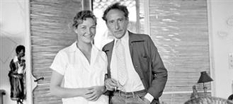 Jean Cocteau et Francine Weisweiller (Villa Santo Sospir)