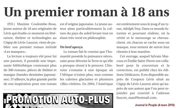 MaximeCoulombeRosa_JournalLePeuple_2010-03-04
