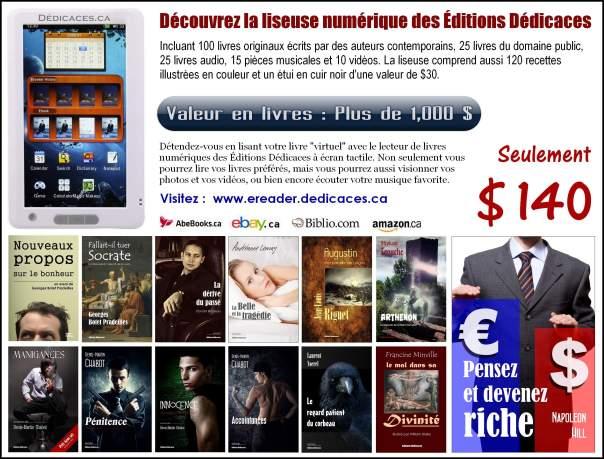 Publicité des Éditions Dédicaces dans le magazine Fugues - Mars 2014