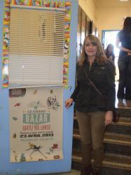 Francine Minville lors de la 18e Journée mondiale du livre et du droit d'auteur