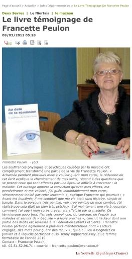 FrancettePeulon_LaNouvelleRepublique_2011-03-08_ZOOM