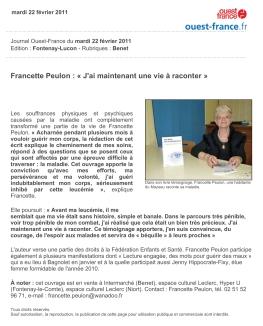 FrancettePeulon_OuestFrance_2011-02-22