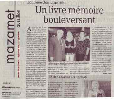 Marie-Chantal Guilmin - D+®p+¬che du Midi (7 octobre 2011) LOW