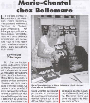 Marie-Chantal Guilmin - La montagne Noire (22 juillet 2009)