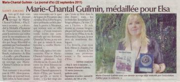 Marie-Chantal Guilmin - Le journal d'Ici (22 septembre 2011) LOW