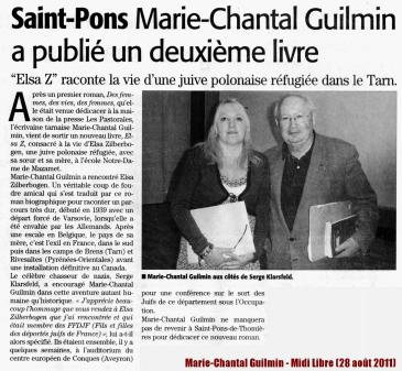 Marie-Chantal Guilmin - Midi Libre (28 ao++t 2011) LOW