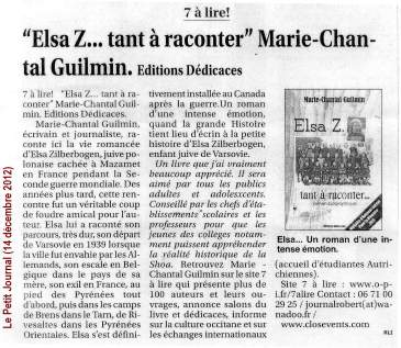 Marie-ChantalGuilmin_LePetitJournal_2012-12-14