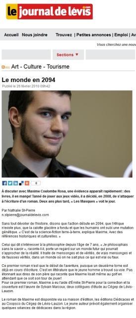 MaximeCoulombeRosa_JournaldeLevis_2010-02-26
