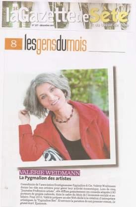 ValerieWeidmann_LaGazettedeSete_2011-12